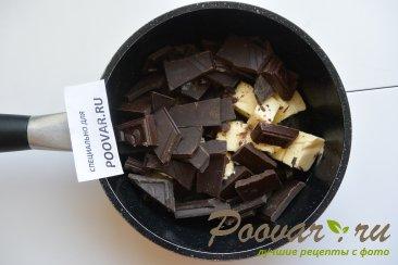 Шоколадный фондан Шаг 2 (картинка)