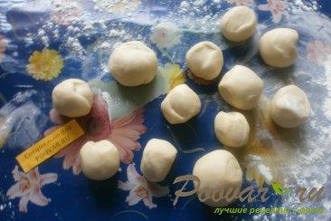 Чебуреки с грибами и сыром Шаг 12 (картинка)