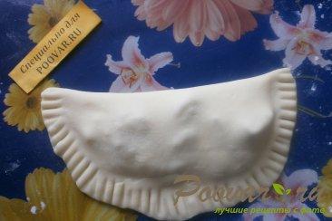 Чебуреки с грибами и сыром Шаг 15 (картинка)