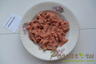 Мясной пирог из вытяжного теста в духовке Шаг 1 (картинка)