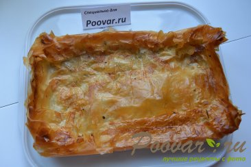 Мясной пирог из вытяжного теста в духовке Шаг 11 (картинка)