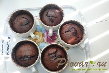 Шоколадный фондан Шаг 9 (картинка)