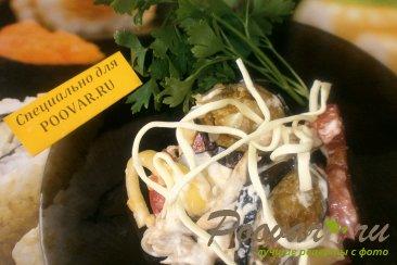Салат с баклажанами и курицей Изображение
