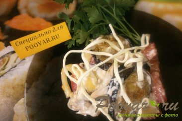 Салат с баклажанами и курицей Шаг 8 (картинка)
