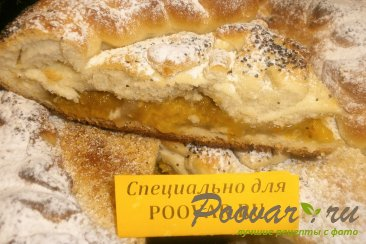 Пирог со сливами Изображение