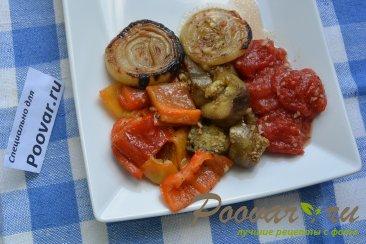Овощи запеченные на гриле Изображение