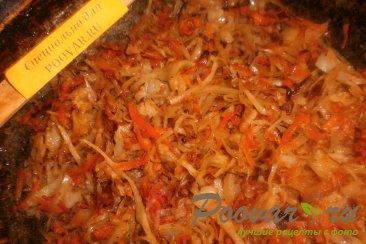 Тушёная капуста с томатом Шаг 6 (картинка)