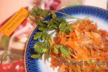 Тушёная капуста с томатом Изображение