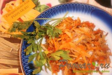 Тушёная капуста с томатом Шаг 7 (картинка)