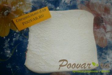Конвертики из слоёного теста с сыром Шаг 5 (картинка)