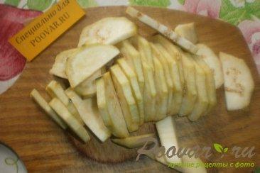 Баклажаны с куриной печенью и сердечками Шаг 2 (картинка)