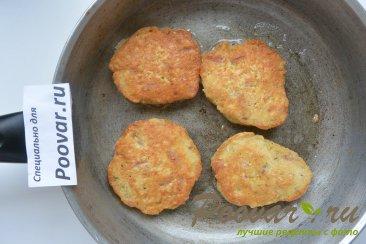 Овсяные оладьи с колбасой Шаг 7 (картинка)