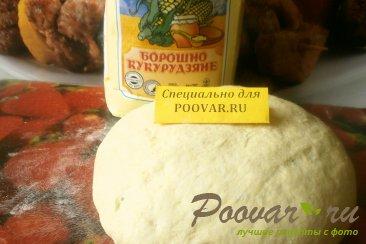 Дрожжевое тесто с кукурузной мукой Изображение