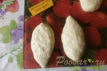 Жареные пирожки с капустой Шаг 7 (картинка)