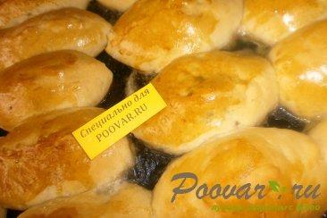 Пирожки со сливами в духовке Шаг 11 (картинка)