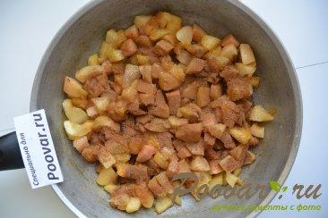 Тарты с яблоками из слоеного теста Шаг 3 (картинка)