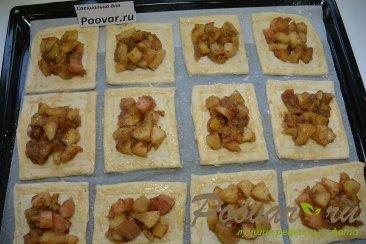 Тарты с яблоками из слоеного теста Шаг 6 (картинка)