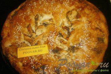 Пирог с яблоками из дрожжевого теста Шаг 11 (картинка)