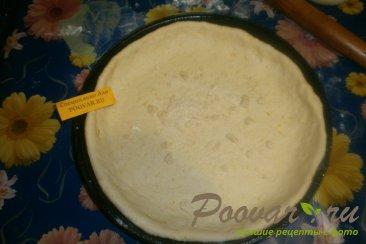 Пирог с яблоками из дрожжевого теста Шаг 6 (картинка)