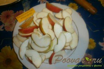 Пирог с яблоками из дрожжевого теста Шаг 7 (картинка)