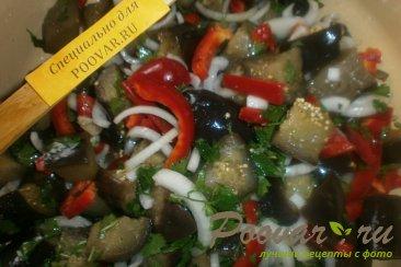 Салат из баклажанов на зиму Шаг 9 (картинка)