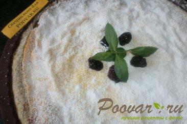 Творожной пирог с вяленой вишней и изюмом Шаг 18 (картинка)
