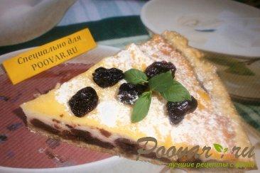 Творожной пирог с вяленой вишней и изюмом Шаг 19 (картинка)