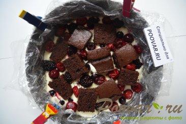 Торт-суфле с творогом и ягодой Шаг 13 (картинка)