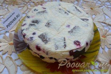 Торт-суфле с творогом и ягодой Шаг 16 (картинка)