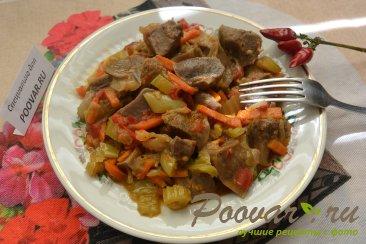Индюшиные желудки с овощами Шаг 8 (картинка)