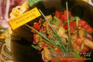 Салат из баклажанов и помидоров Изображение