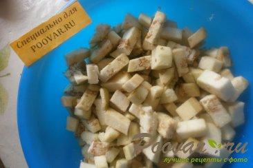 Салат из баклажанов и помидоров Шаг 3 (картинка)