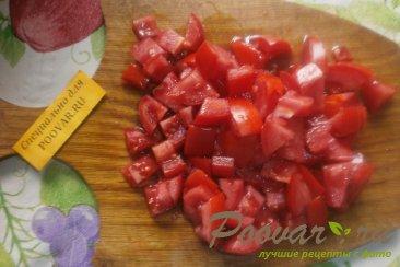 Салат из баклажанов и помидоров Шаг 6 (картинка)