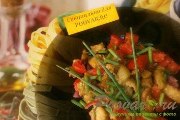Салат из баклажанов и помидоров Шаг 16 (картинка)