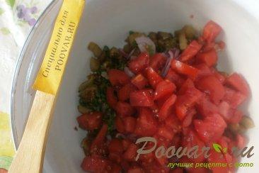 Салат из баклажанов и помидоров Шаг 15 (картинка)