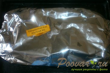 Свиные рёбрышки с алычой, грибами в духовке Шаг 11 (картинка)