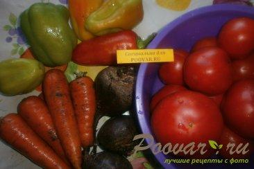 Овощная заправка для борща Шаг 1 (картинка)