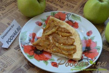 Яблочный пирог в микроволновке Изображение
