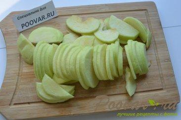 Яблочный пирог в микроволновке Шаг 5 (картинка)