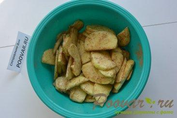 Яблочный пирог в микроволновке Шаг 6 (картинка)