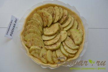 Яблочный пирог в микроволновке Шаг 8 (картинка)