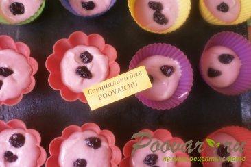 Кексы с вяленой вишней Шаг 6 (картинка)