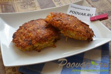 Жаренная рыба в картофельной шубе с сыром Изображение
