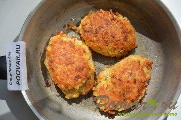 Жаренная рыба в картофельной шубе с сыром Шаг 10 (картинка)