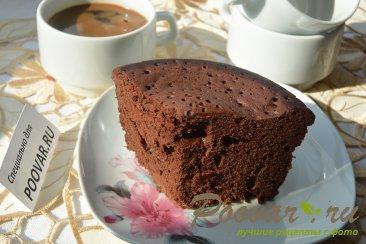 Шоколадный бисквит в микроволновке Изображение