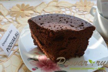 Шоколадный бисквит в микроволновке Шаг 9 (картинка)