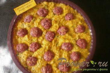 Картофельная запеканка с мясными шариками Шаг 13 (картинка)