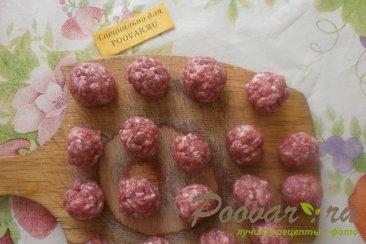 Картофельная запеканка с мясными шариками Шаг 12 (картинка)