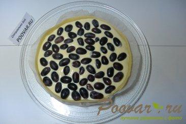 Творожной пирог с виноградом в микроволновке Шаг 10 (картинка)