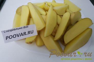 Запеченная картошка по-деревенски Шаг 1 (картинка)